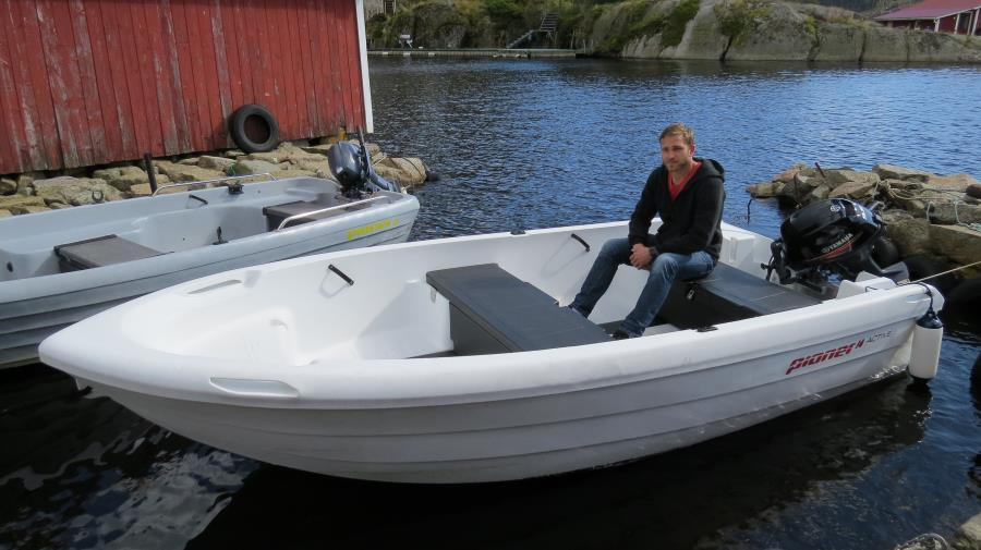 das Extraboot Pioner, 14 ft, Upgrade auf 20 PS) , Plotter Echolot