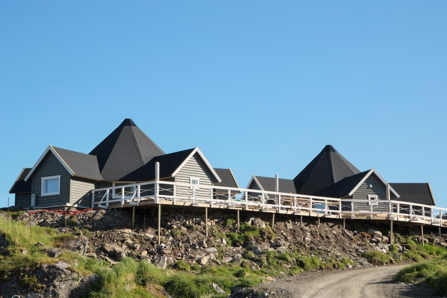 Fisherman's Lodge und Sailor's Lodge, Cape Marina, Nordkap Nordnorwegen