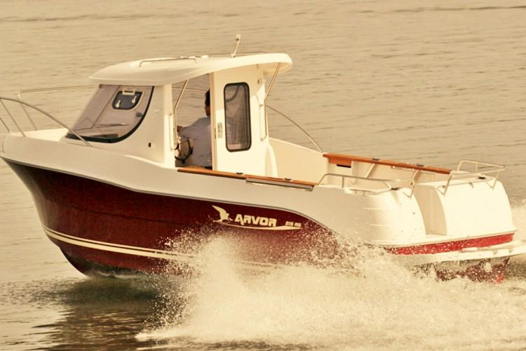 Arvor 215 AS, 22 ft. 115 PS Dieselpower