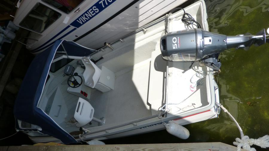 Boot Hansvik 18 ft, 50 PS, Kartenplotter u. Echolot